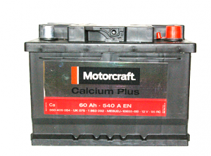 Akumulator 12V 60Ah 540 AH Motorcraft Calcium Plus 1863092